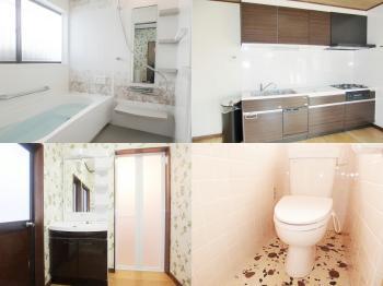 会津若松 あかべこりふぉーむ 東協設備快適で使いやすく、まるで新築の家に住んでいるような気分になります。