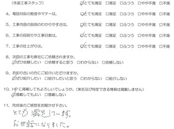 あかべこりふぉーむ 会津若松 とても満足しています。
