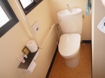 オートフレグランスのおかげでトイレの中はいつもいい匂いで、快適な空間になっています。