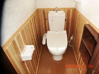 下水道工事にともない、トイレをリフォームしていただきました。雰囲気も変わり満足です。