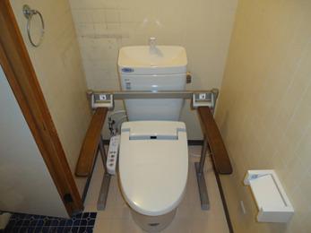 バリアフリーの洋式トイレにリフォームして正解でした。ありがとうございます。