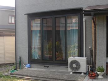 カッコ良くて機能性もバッチリな窓になって嬉しいです。