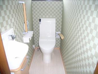 将来の事を考えた提案をしていただいたおかげで、快適なトイレが出来ました。