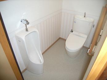 掃除がしやすいし、可愛いらしいトイレになり、大満足です。