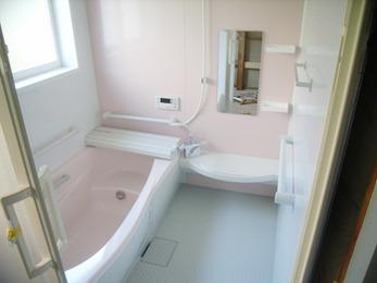 希望通りのお風呂ができました。安心して入浴できます。
