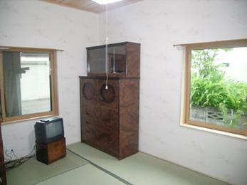 北川に面している寝室でも暖かく快適に暮らせます。
