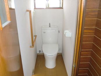 バリアフリーのトイレになり、使いやすく快適な空間になりました。