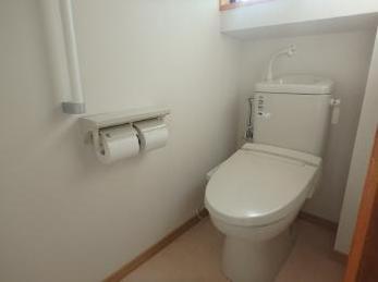 バリアフリーで清潔なトイレになりました。感謝の一言です。