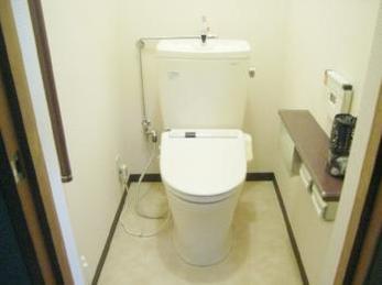快適で使いやすくなったトイレに父も大変喜んでおります。